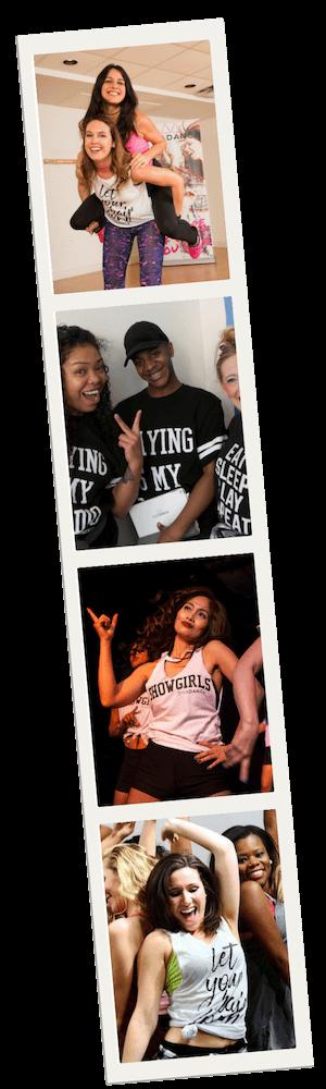diva dance charleston dance party photo strip